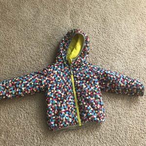 Girls Northface reversible jacket